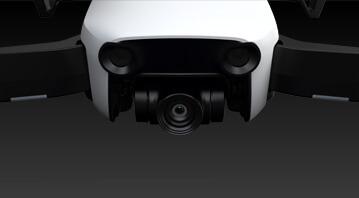 Kamera na 3-osiowym gimbalu