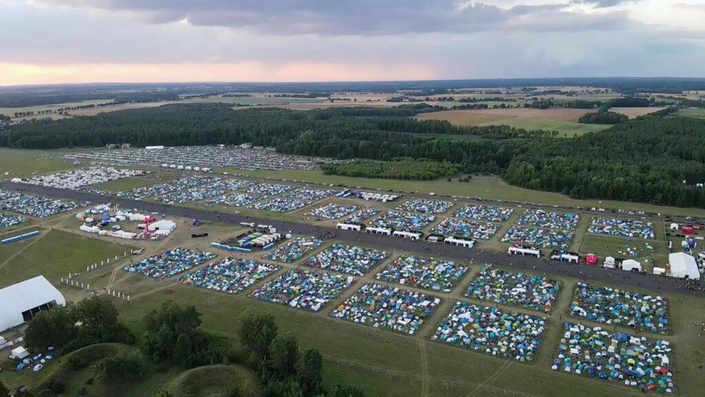 Pol'and'Rock Festival 2021 AeroScope